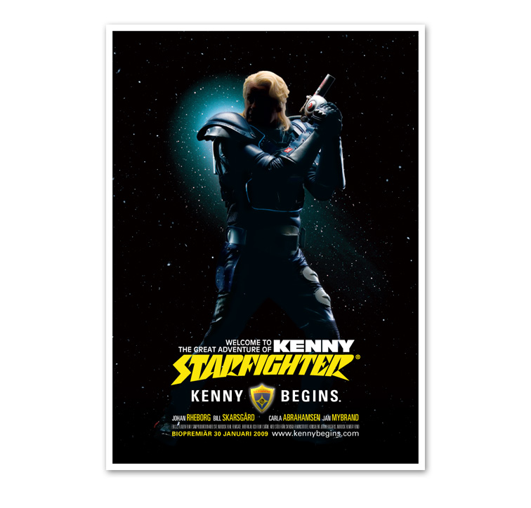 kenny starfighter begins